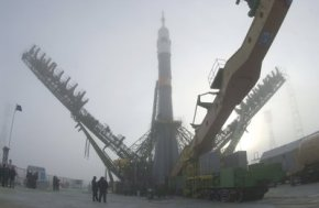 Baikonur launch grounds