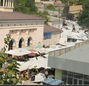 tashkent market street