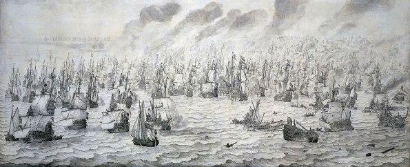 1280px-De_slag_bij_Terheide_-_The_Battle_of_Schevening_-_August_10_1653_(Willem_van_de_Velde_I,_1657)
