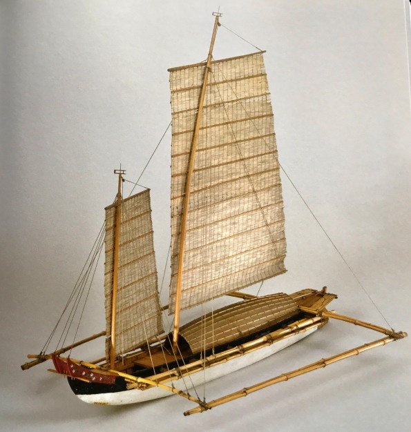 outrigger sampan manila model