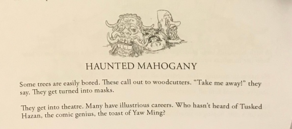 haunted mahogany