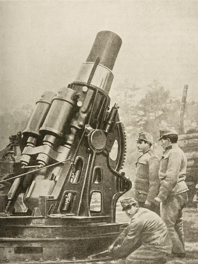 austrian-12-inch-siege-howitzer-and-ken-welsh